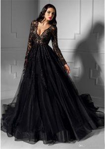 17 Erstaunlich Abendkleid Lang Schwarz Spitze GalerieAbend Einzigartig Abendkleid Lang Schwarz Spitze Stylish