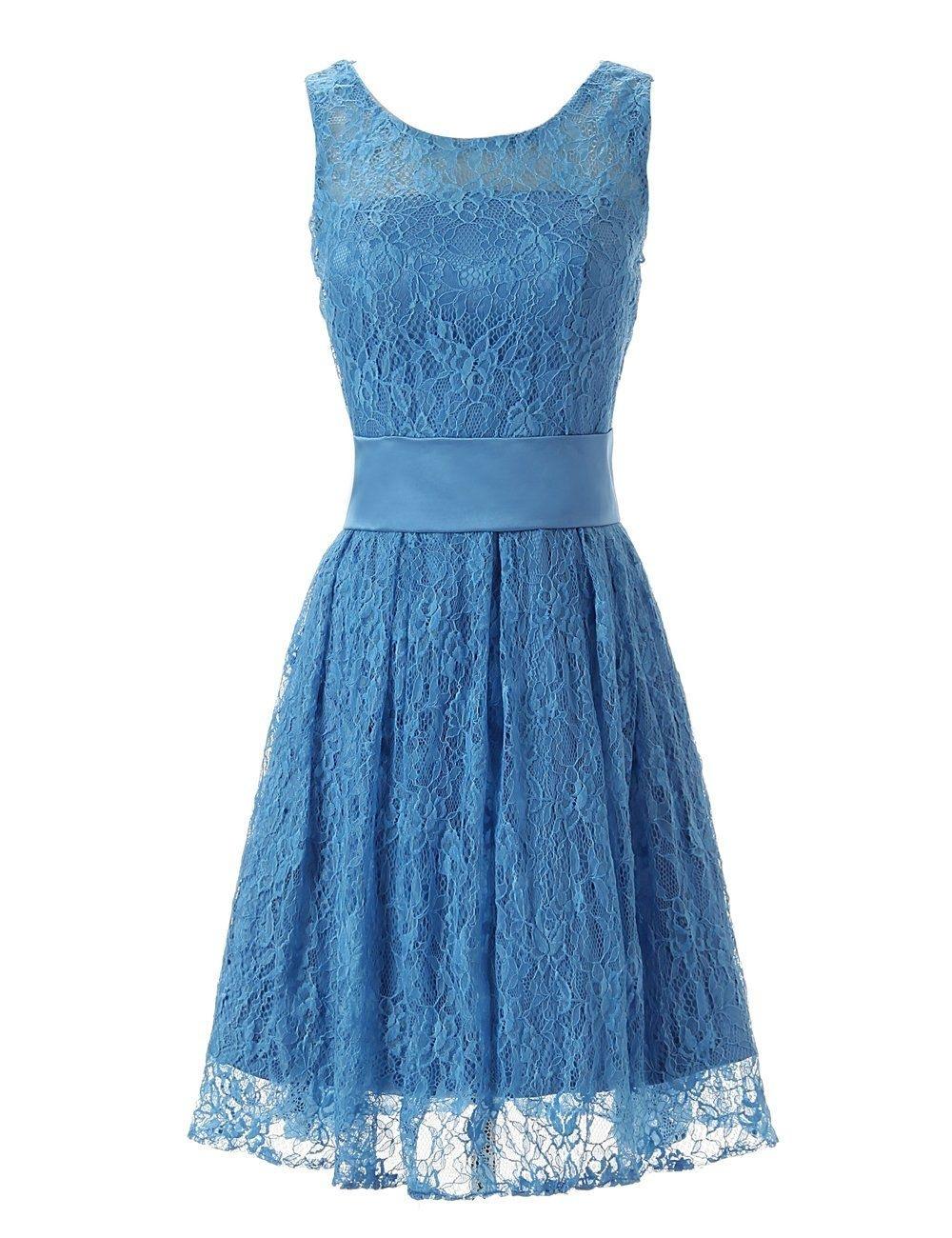 17 Großartig Blaue Kleider Knielang für 2019Formal Schön Blaue Kleider Knielang Galerie