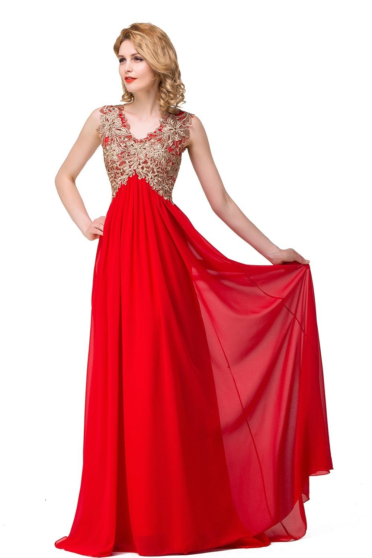 Schön Abendkleider Lang Rot Spitze Ärmel Wunderbar Abendkleider Lang Rot Spitze Bester Preis