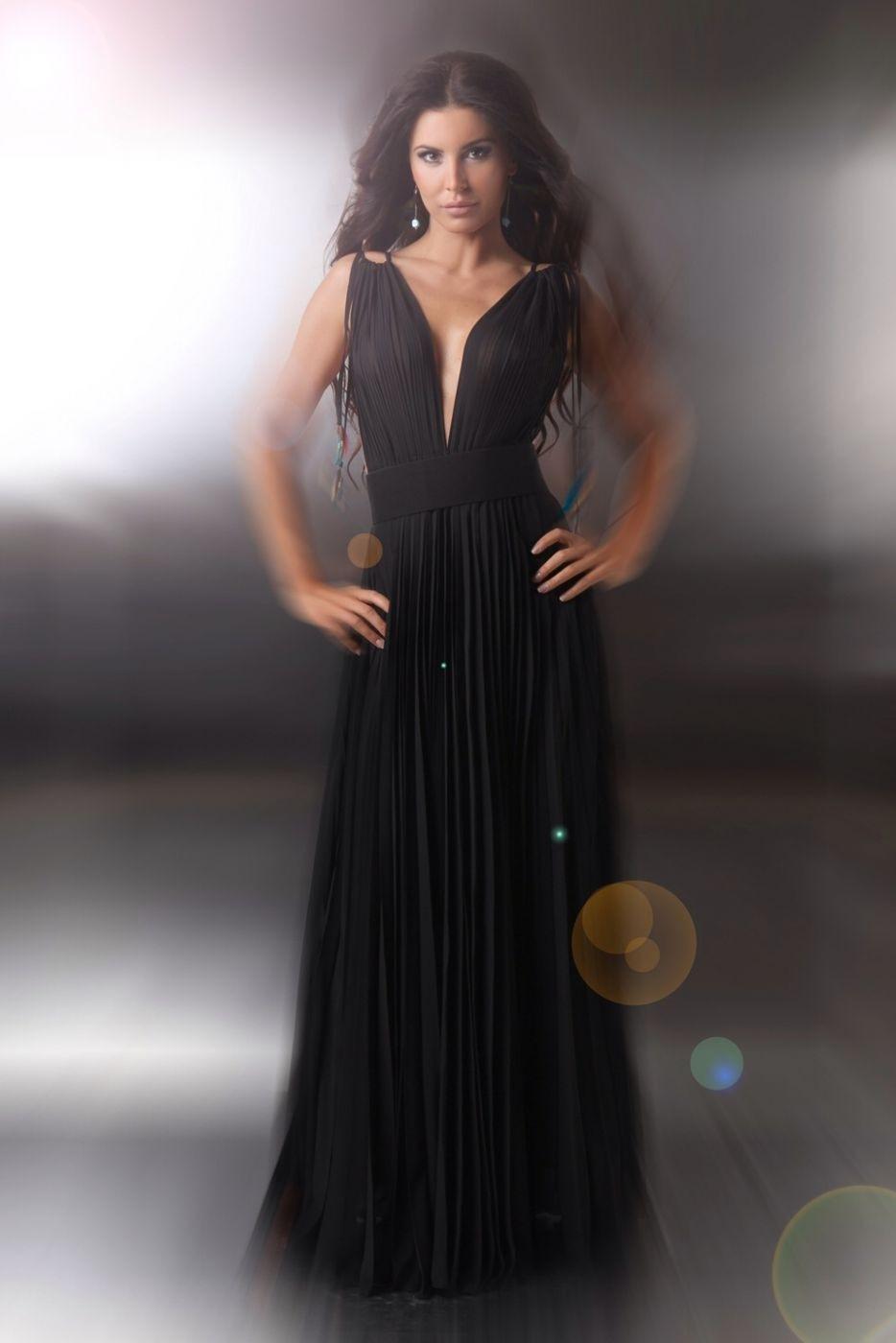 13 Luxurius Langes Abendkleid Schwarz Bester Preis Top Langes Abendkleid Schwarz Galerie