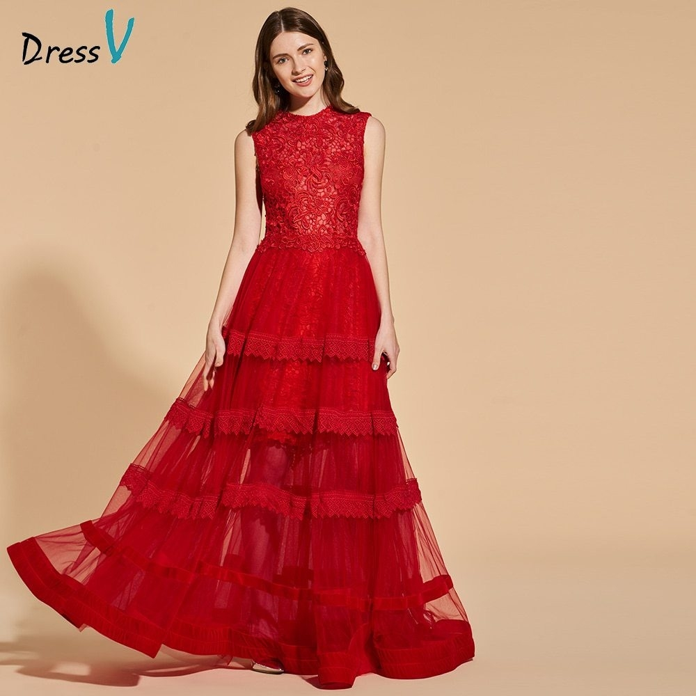 17 Schön Abendkleider Lang Rot Spitze Spezialgebiet15 Schön Abendkleider Lang Rot Spitze Stylish
