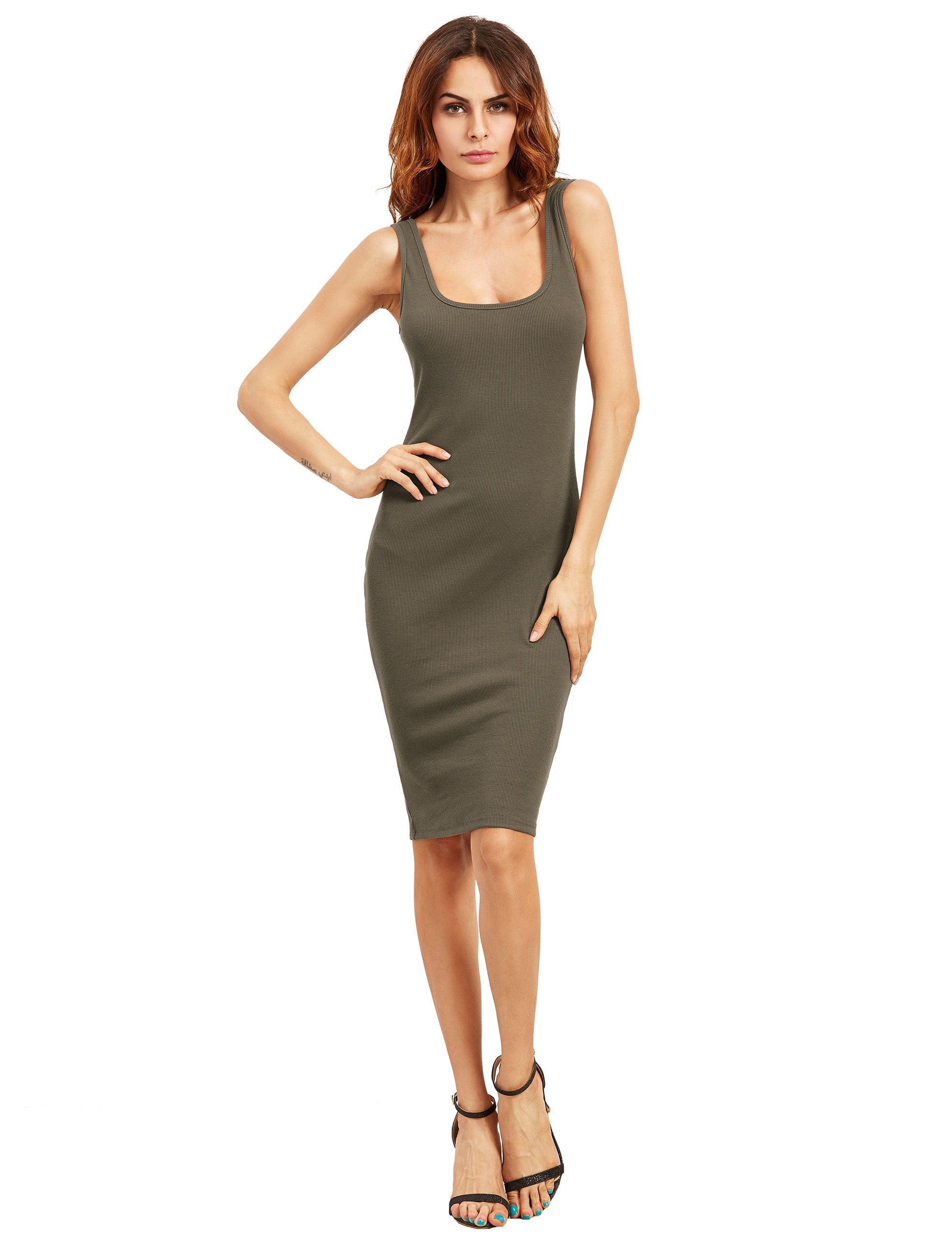 Perfekt Ärmellose Kleider Knielang Stylish15 Kreativ Ärmellose Kleider Knielang Design