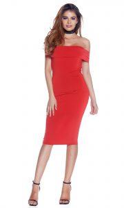 Leicht Kleid Rot Midi Spezialgebiet20 Luxurius Kleid Rot Midi Boutique