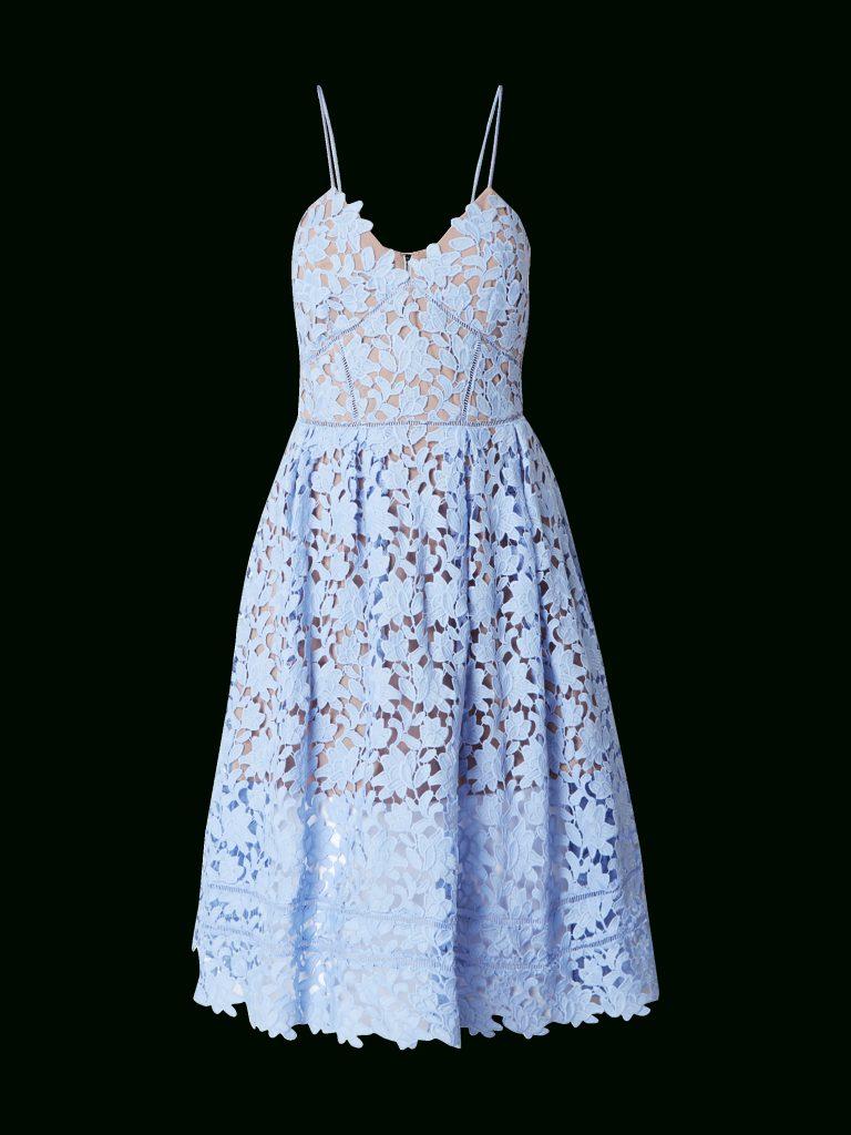 finest selection 03dd1 eddc4 Abend Schön Kleid Spitze Hellblau Stylish - Abendkleid