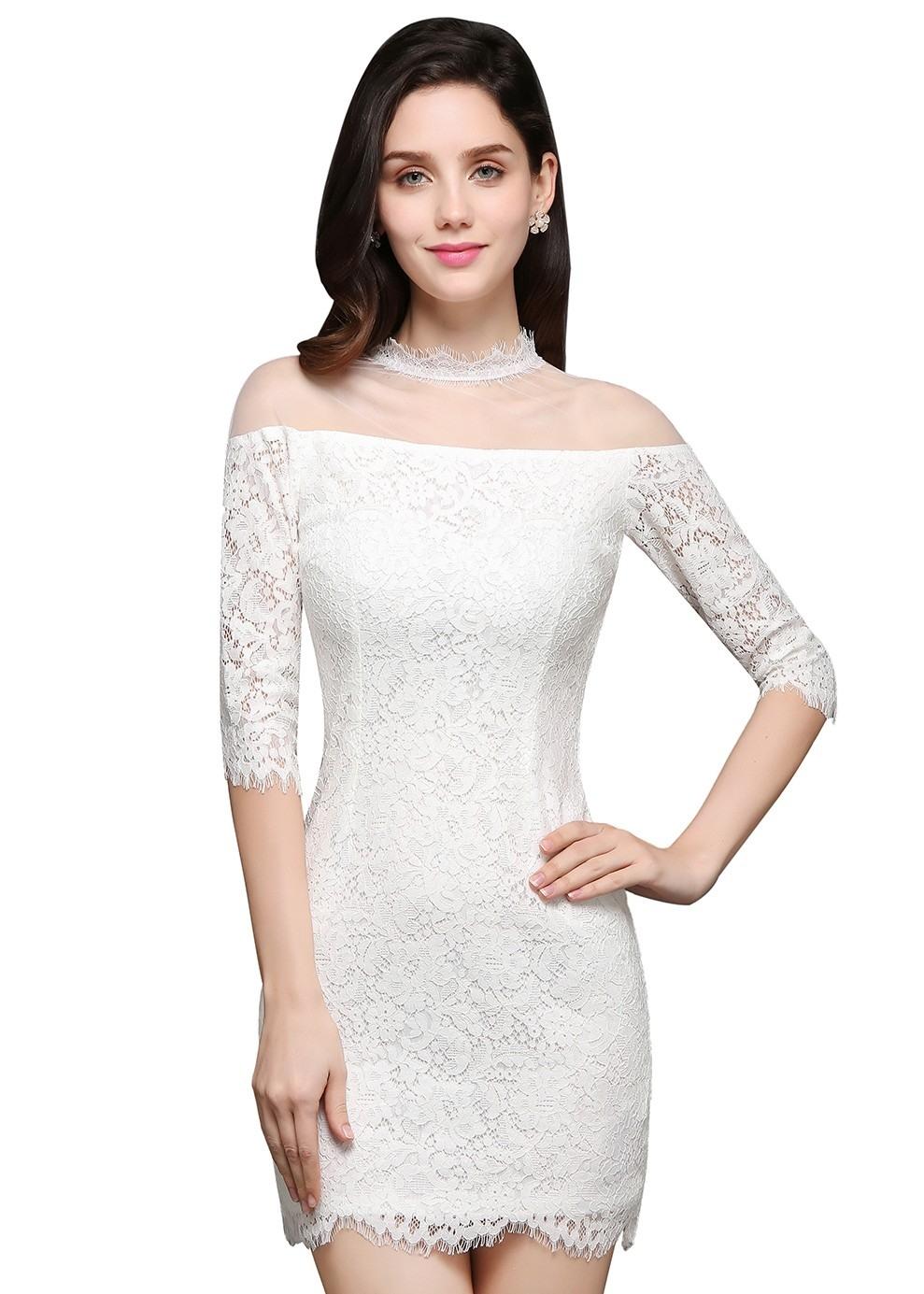20 Elegant Abendkleider Mit Spitze Kurz für 201910 Erstaunlich Abendkleider Mit Spitze Kurz Vertrieb