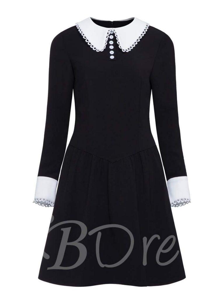 Abend Wunderbar Langarm Kleid Schwarz Boutique - Abendkleid