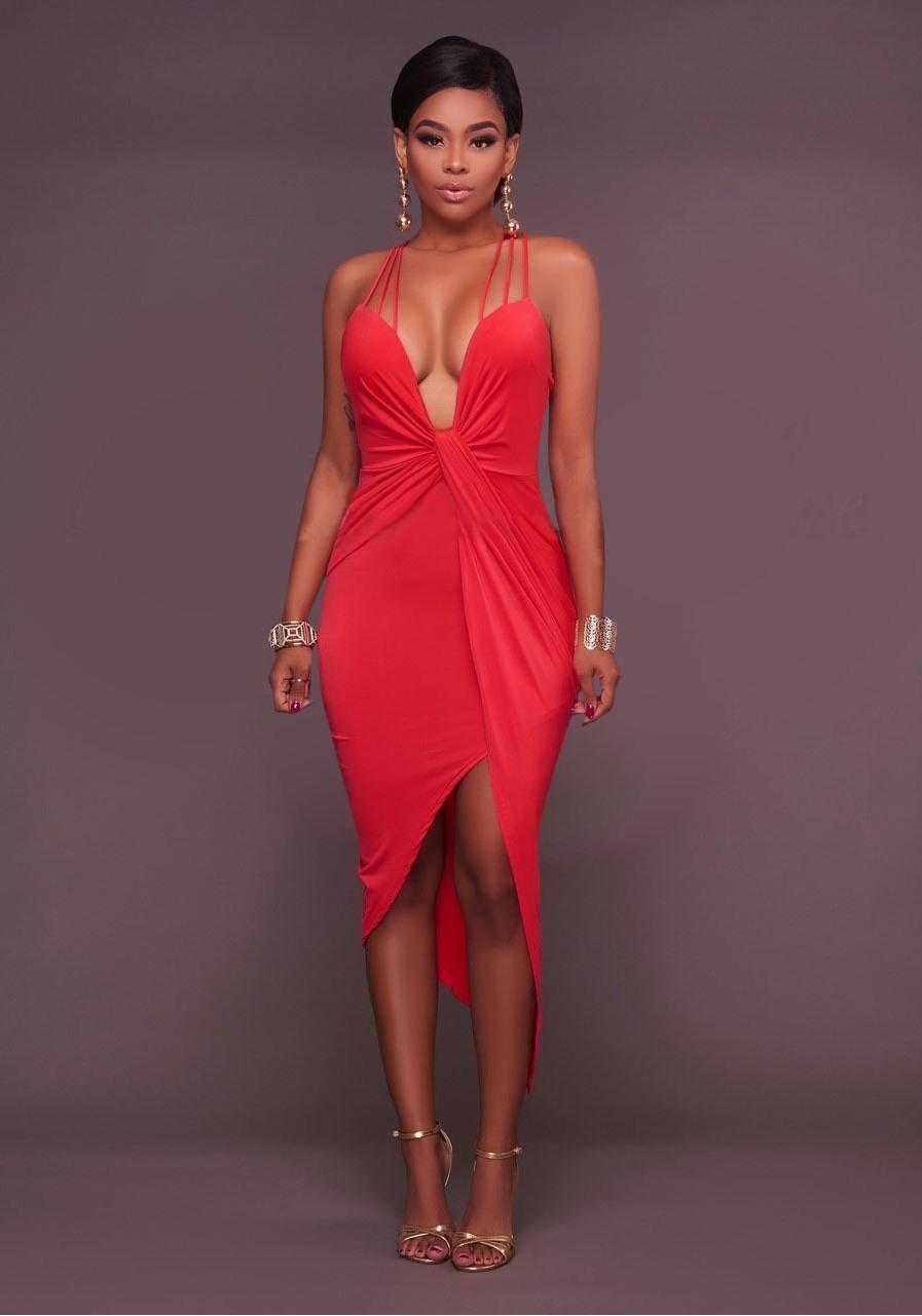 10 Spektakulär Kleid Rot Midi Ärmel20 Wunderbar Kleid Rot Midi Ärmel