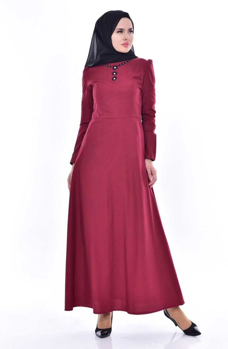 Abend Ausgezeichnet Weinrotes Kleid Stylish13 Perfekt Weinrotes Kleid Bester Preis