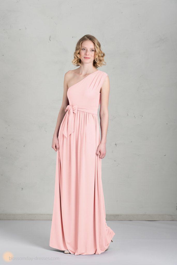 Designer Cool Rosa Kleid Lang Vertrieb - Abendkleid