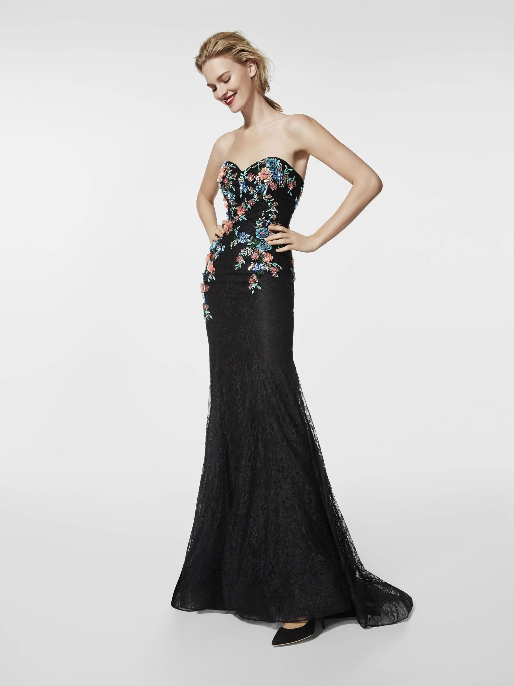 17 Schön Langes Abendkleid Schwarz GalerieDesigner Ausgezeichnet Langes Abendkleid Schwarz Spezialgebiet