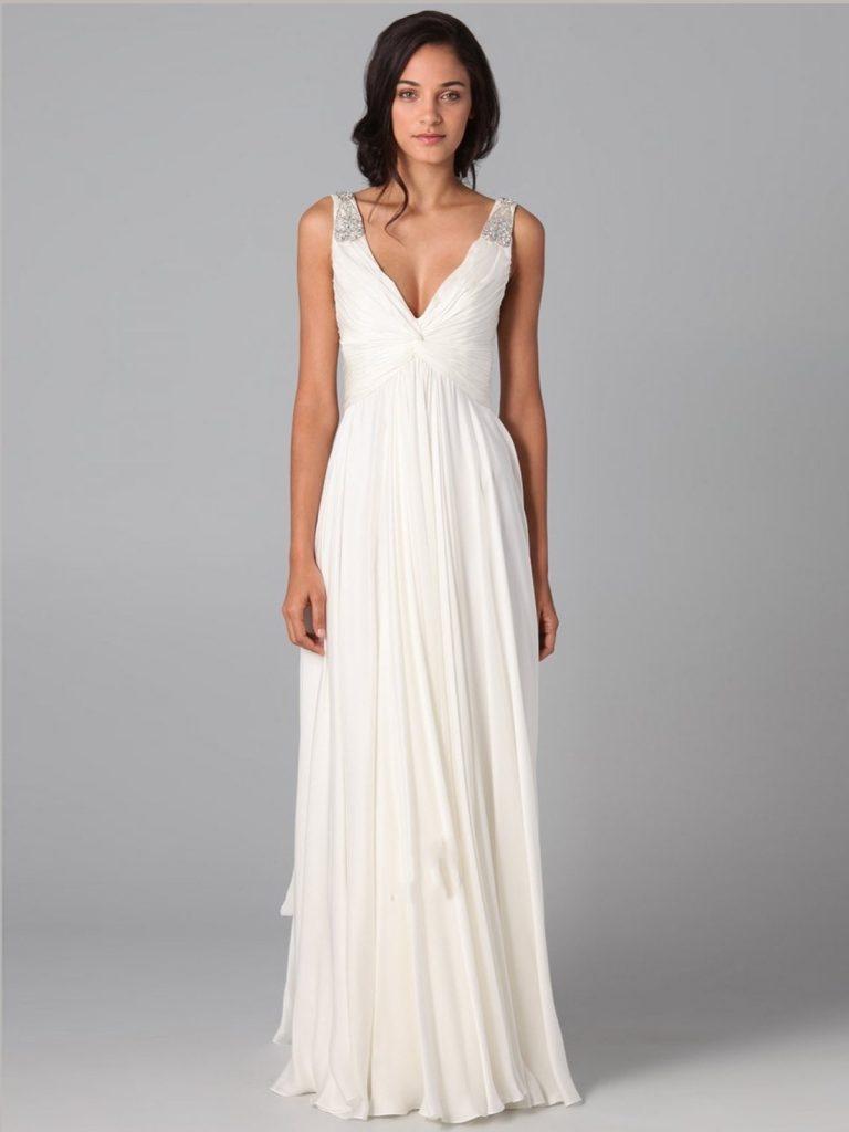 Designer Perfekt Abendkleid Weiß Lang Design - Abendkleid