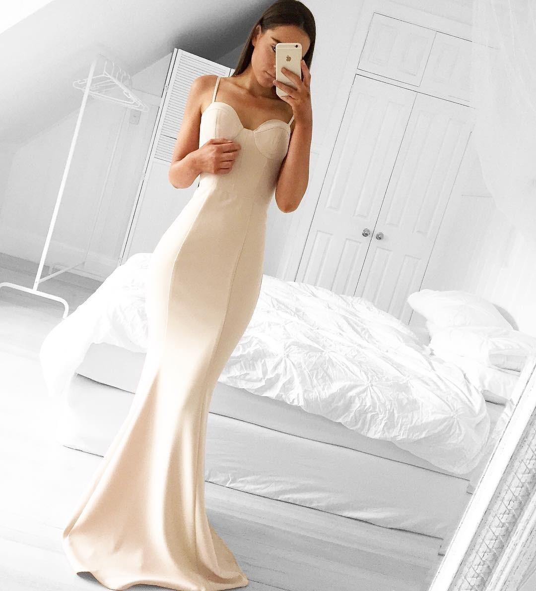 Formal Schön Abendkleid Weiß Lang Bester Preis10 Großartig Abendkleid Weiß Lang Ärmel