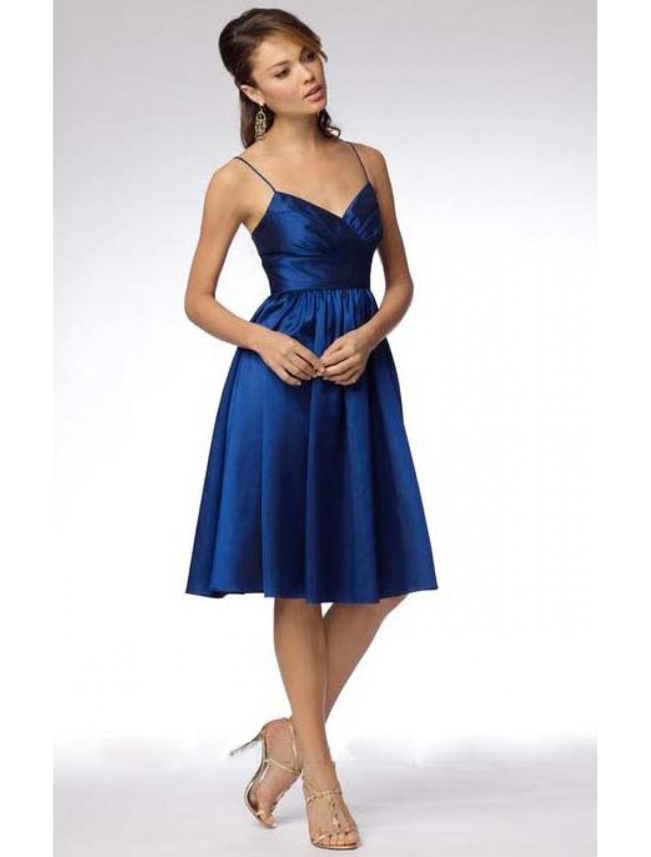 13 Perfekt Blaue Kleider Knielang BoutiqueDesigner Genial Blaue Kleider Knielang Spezialgebiet