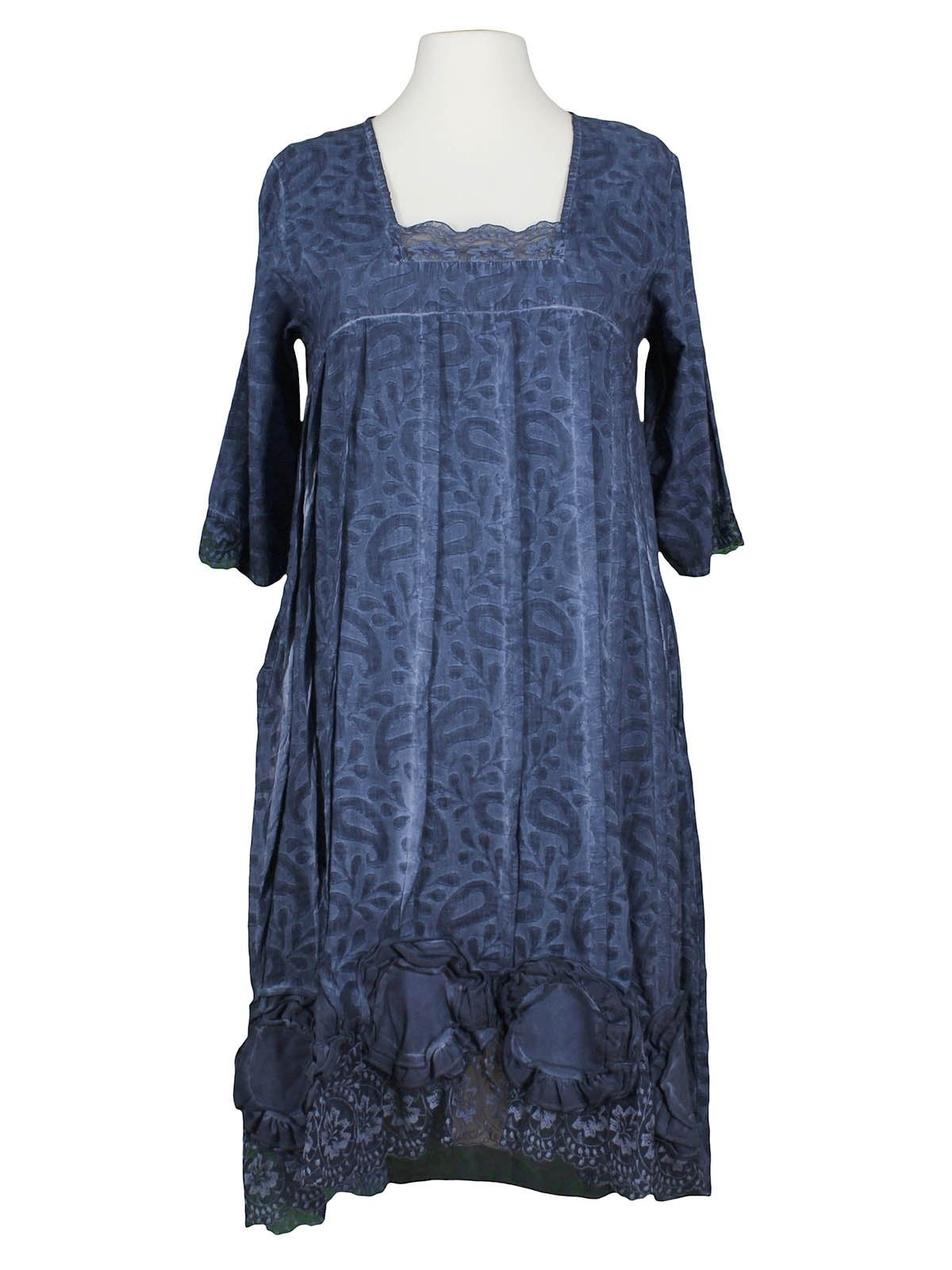Formal Luxus Kleid Blau Mit Spitze ÄrmelAbend Leicht Kleid Blau Mit Spitze Stylish