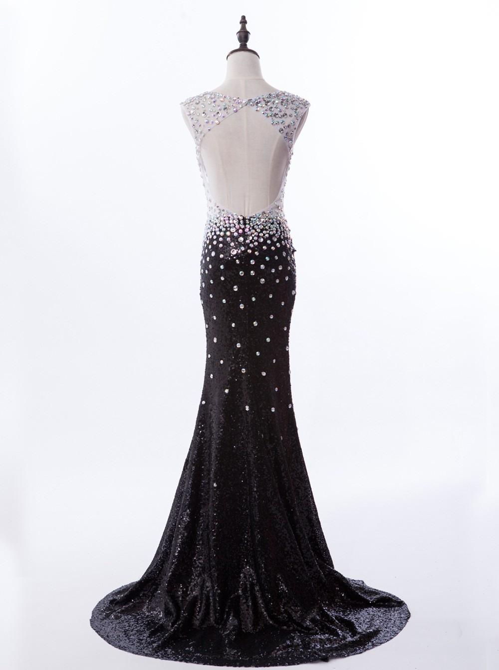 Ausgezeichnet Abendkleid Lang Schwarz Pailletten Spezialgebiet17 Genial Abendkleid Lang Schwarz Pailletten Boutique