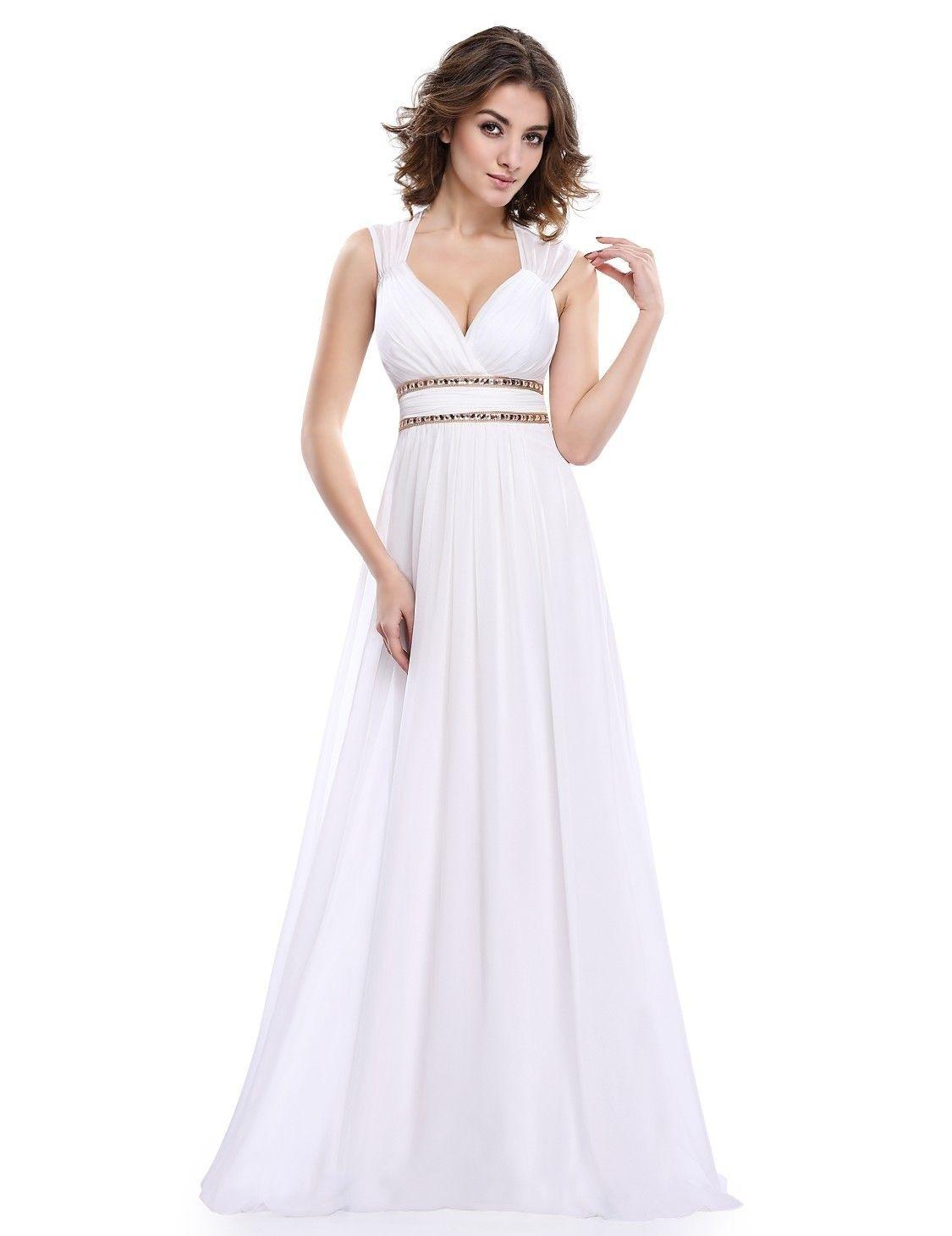 Abend Schön Abendkleid Weiß Lang Spezialgebiet10 Genial Abendkleid Weiß Lang Vertrieb