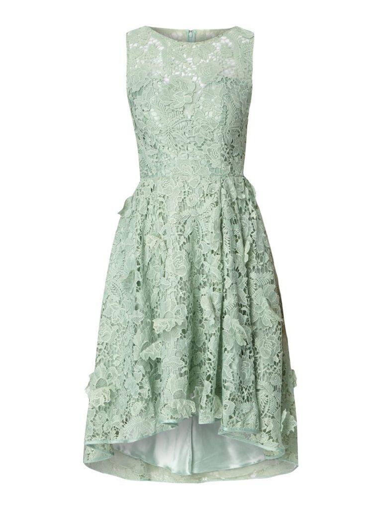 Formal Kreativ Kleid Grün Spitze Spezialgebiet - Abendkleid