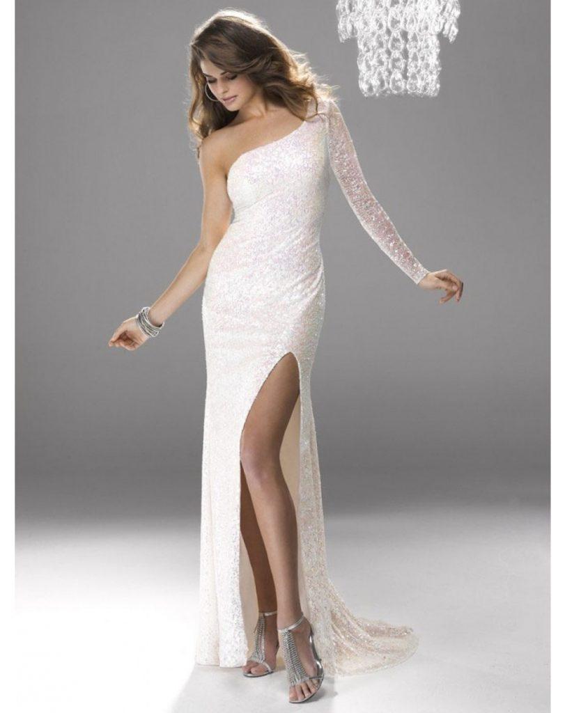 5c7a2ec3f02501 Formal Top Weiße Abendkleider Lang Günstig Bester Preis : Formal Leicht  Weiße Abendkleider Lang Günstig Design