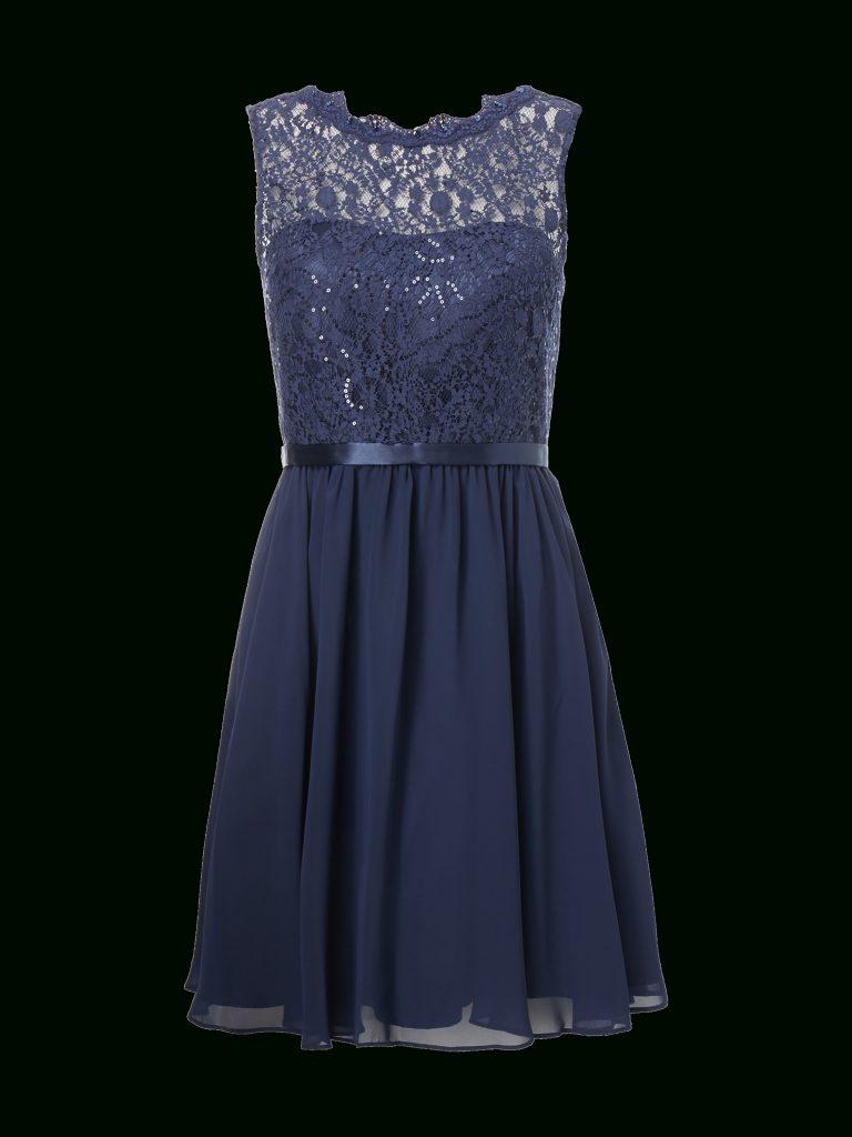 Formal Schön Kleid Blau Mit Spitze Galerie - Abendkleid
