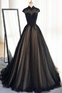 Abend Großartig Abendkleid Lang Schwarz Spitze für 201917 Erstaunlich Abendkleid Lang Schwarz Spitze Spezialgebiet
