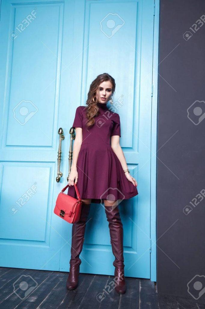 schöne moderne kurze kleider