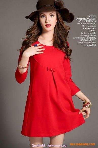 10 großartig rotes kleid knielang boutique - abendkleid