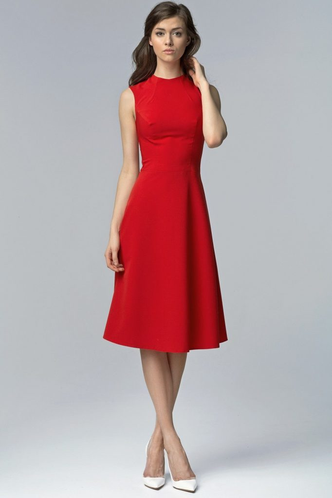 13 Elegant Rotes Kleid Knielang Vertrieb Abendkleid