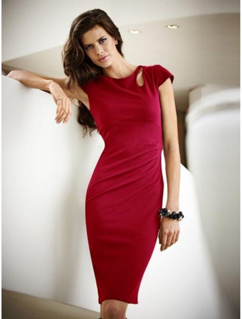 13 Luxus Rotes Kleid Knielang Stylish Abendkleid