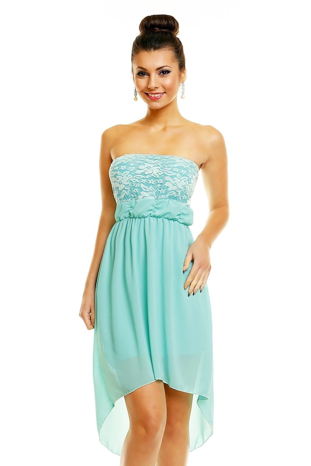 Abend Perfekt Kleid Türkis Blau ÄrmelFormal Spektakulär Kleid Türkis Blau für 2019