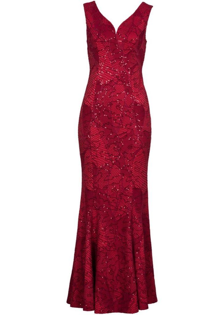 Formal Genial Rotes Kleid Knielang Bester Preis Abendkleid