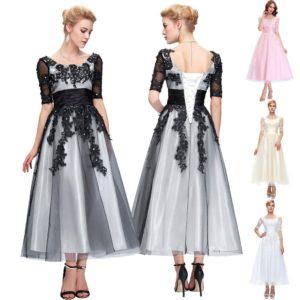 Abend Schön Abendkleid Wadenlang Design17 Leicht Abendkleid Wadenlang Stylish