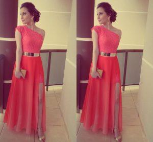 Abend Luxurius Langes Kleid Koralle Boutique15 Erstaunlich Langes Kleid Koralle Bester Preis