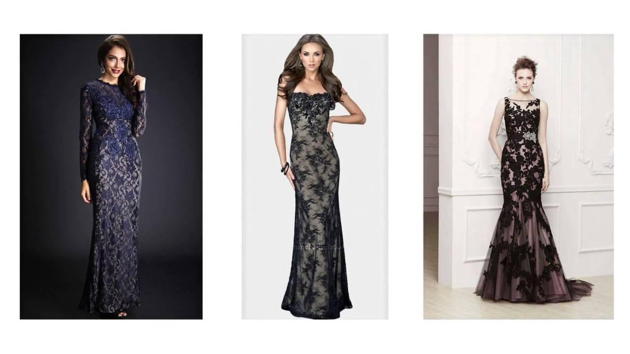 Abend Schön Langes Kleid Spitze für 201915 Schön Langes Kleid Spitze Design