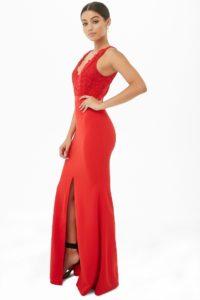 Designer Schön Langes Kleid Spitze Design13 Einzigartig Langes Kleid Spitze Spezialgebiet