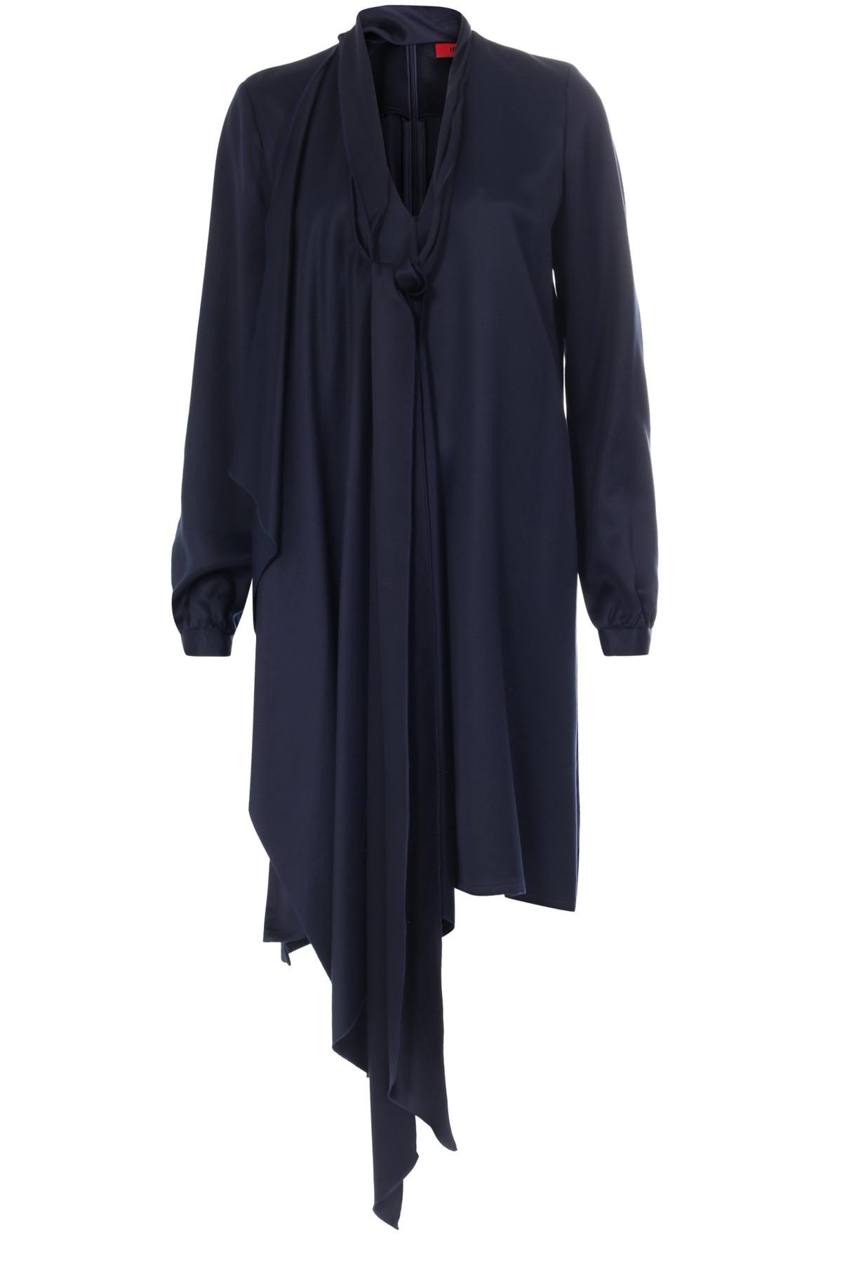 Cool Kleid Dunkelblau für 201917 Ausgezeichnet Kleid Dunkelblau Stylish
