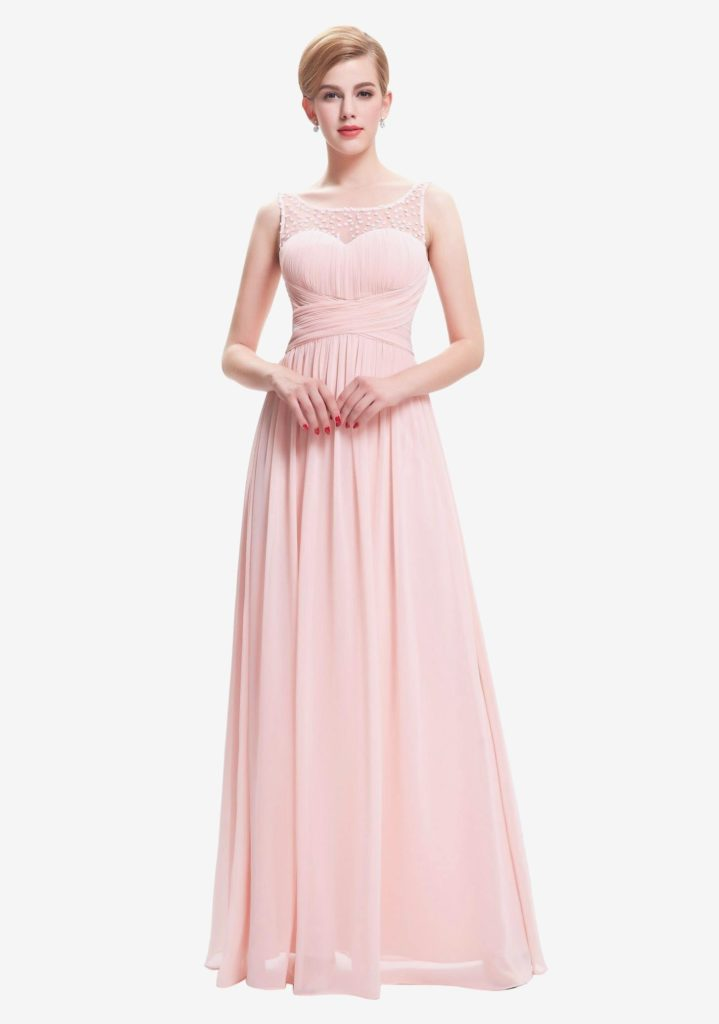 15 ausgezeichnet rosa langes kleid mit glitzer stylish