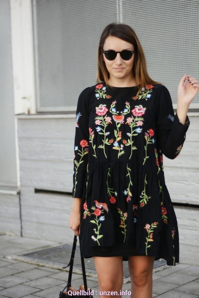 17 Cool Kleid Schwarz Blumen Bester PreisDesigner Coolste Kleid Schwarz Blumen Ärmel