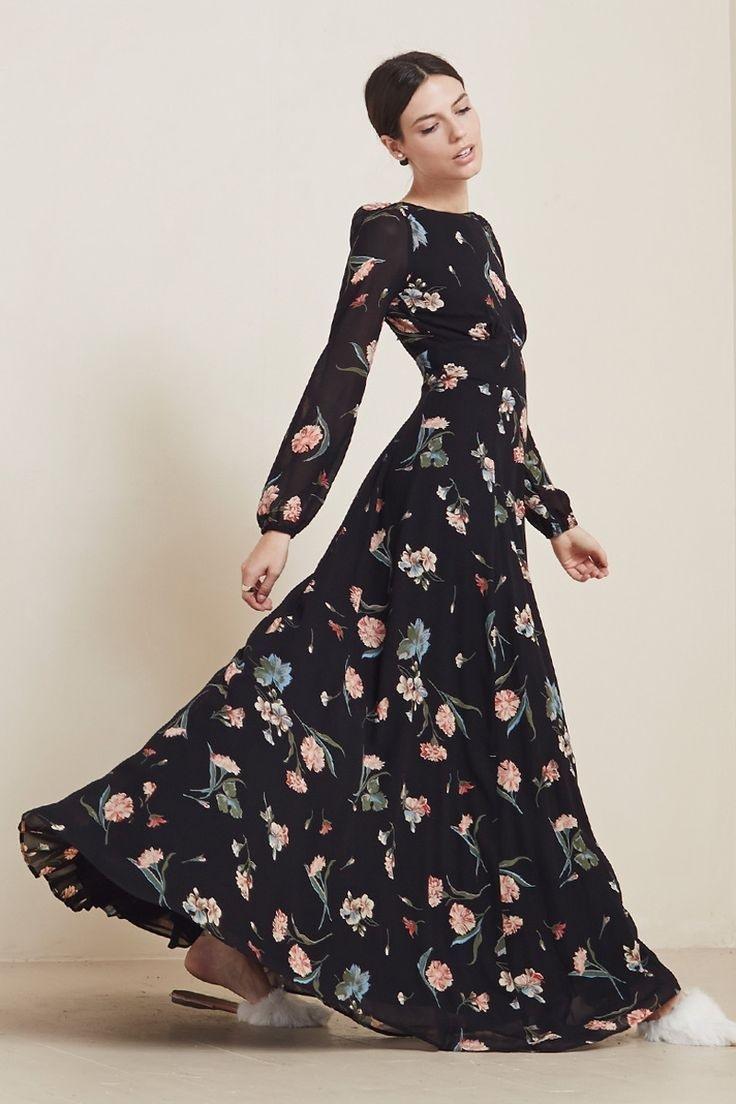 13 Coolste Blumenkleid Lang StylishAbend Schön Blumenkleid Lang für 2019