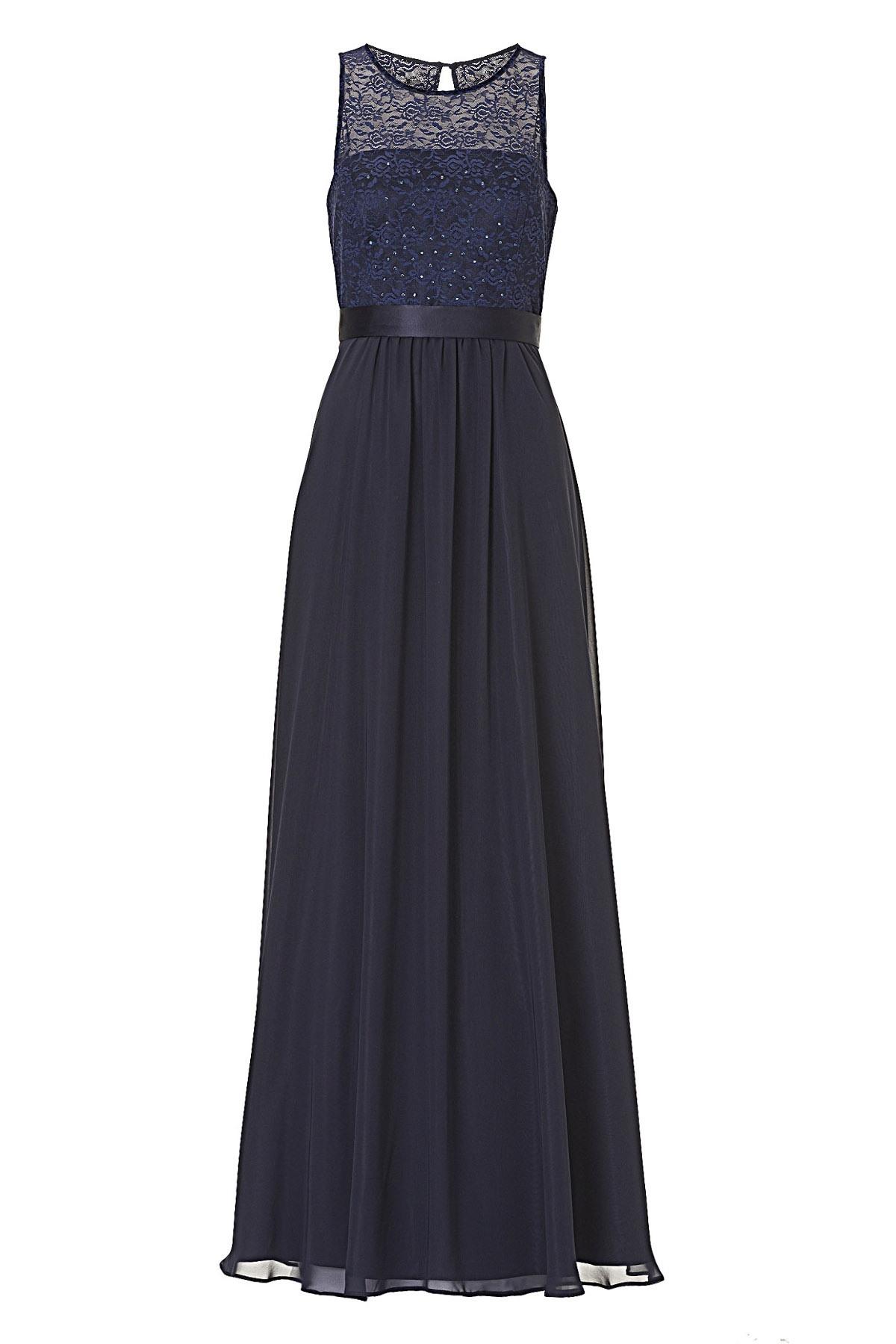 Abend Luxurius Langes Kleid Spitze für 2019Designer Ausgezeichnet Langes Kleid Spitze Bester Preis
