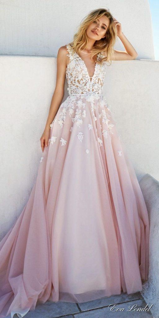 formal coolste rosa langes kleid mit glitzer für 2019
