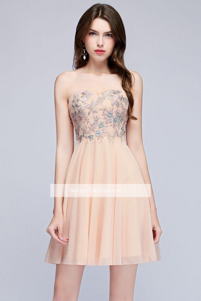 Formal Einfach Abendkleider Kurz Online Stylish - Abendkleid