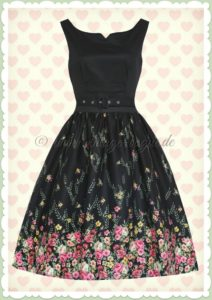 13 Erstaunlich Kleid Schwarz Blumen Stylish17 Wunderbar Kleid Schwarz Blumen Vertrieb
