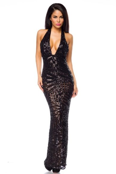 4e06db4e77b351 Abendkleid - Sheego Style Abendkleid mit floraler Spitze