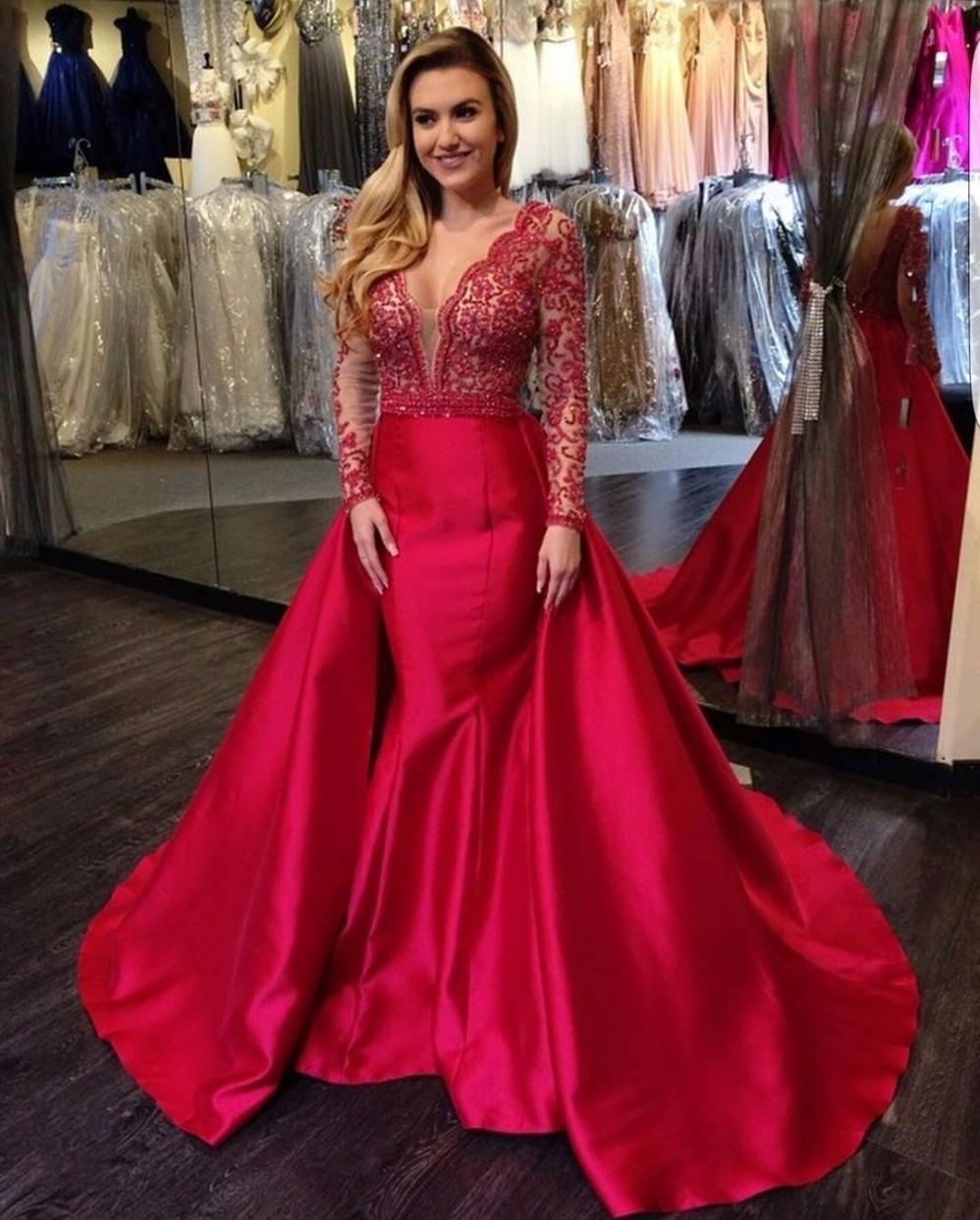 10 Schön Rotes Abendkleid Ärmel Top Rotes Abendkleid Stylish