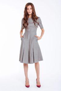 10 Fantastisch Kleid Grau Galerie Schön Kleid Grau Stylish