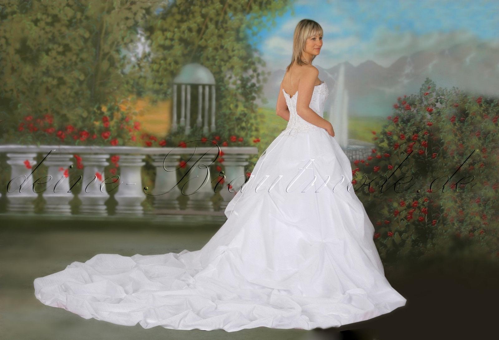 Formal Luxurius Brautkleid Mit Schleppe VertriebAbend Luxus Brautkleid Mit Schleppe Ärmel