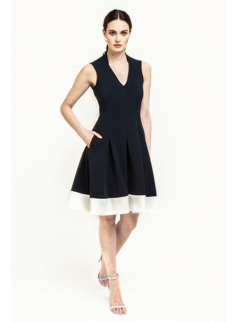 20 Wunderbar Kleid Marineblau für 2019Abend Perfekt Kleid Marineblau Stylish
