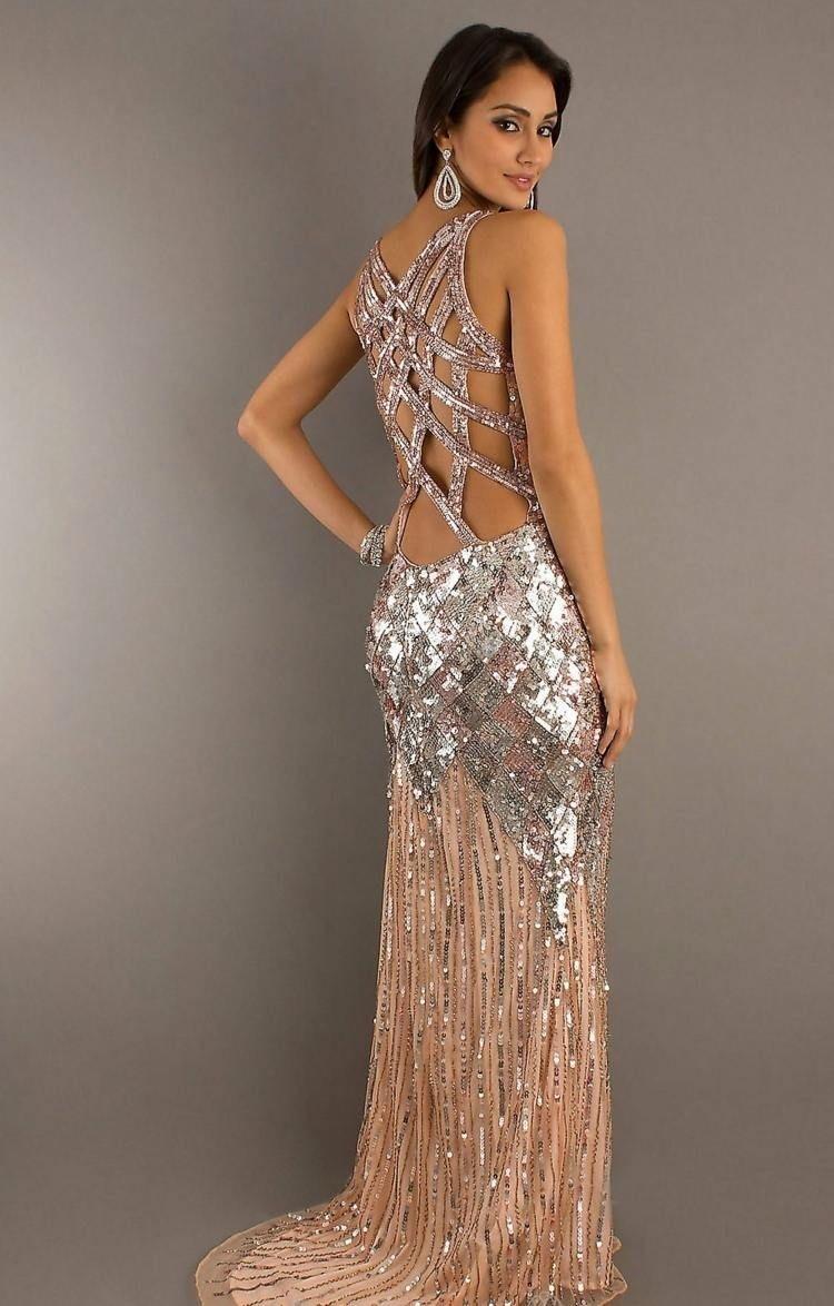 15 Schön Pailletten Kleid Abendkleid Ärmel15 Fantastisch Pailletten Kleid Abendkleid Spezialgebiet