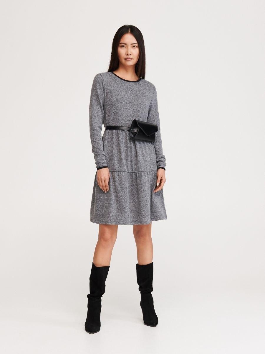 10 Luxus Kleid Grau Galerie15 Schön Kleid Grau für 2019