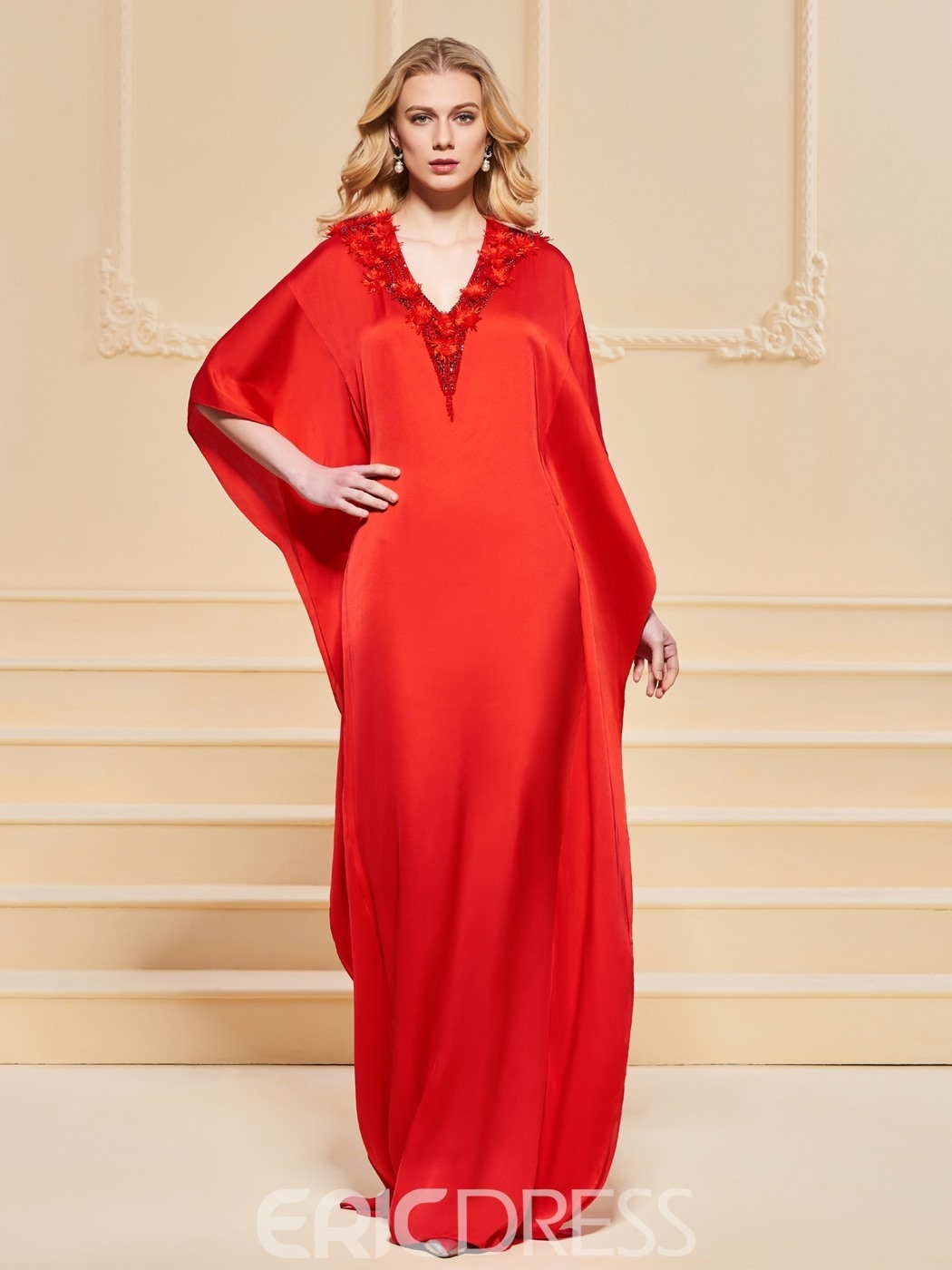 Coolste Rotes Abendkleid Stylish - Abendkleid